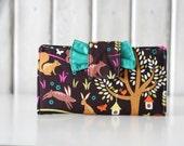 Women's Woodland Wallet // Clutch Wallet // Bifold Wallet