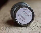Lotion Bar - Solid - Handmade with Beeswax, Shea Butter and Natural Oils - Lemongrass Cedarwood