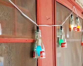 String Lights - Reclaimed Coke Bottle