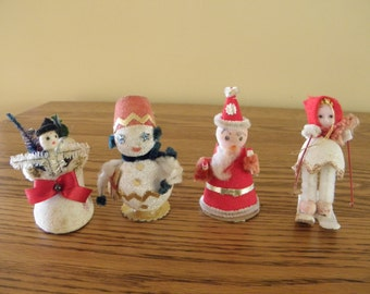 Novelity Christmas Decorations from Japan 1950's