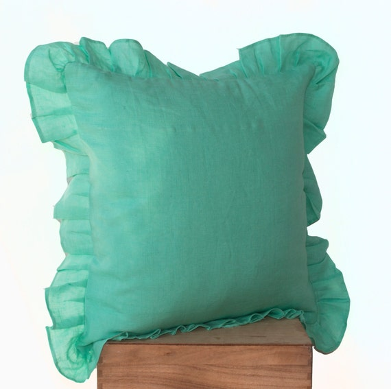 Decorative Pillows In Tiffany Blue : Unavailable Listing on Etsy