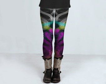 Coloured Smoke yoga leggings size XS - XL