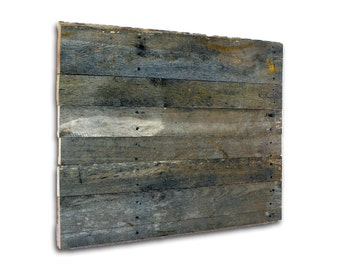 Food or Still Life ETSY Photography Background. Recycled  Distressed Rustic Pallet Wood Reclaimed Blank Panel for Sign Painting. Grey Patina