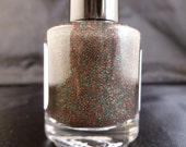 Christmas Sparkle---handmade glitter nail polish