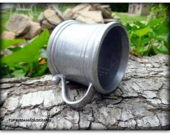 Vintage Wilton Columbia Pa U S A (RWP) HGA Pewter Mug Half  Size Half Pint
