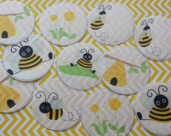 Edible Bee Wafer Paper