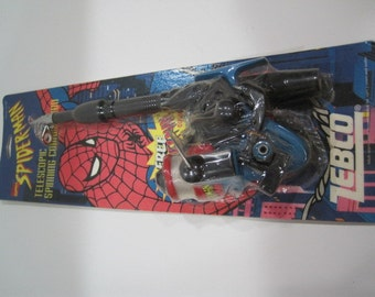 Vintage zebco reel etsy for Spiderman fishing pole