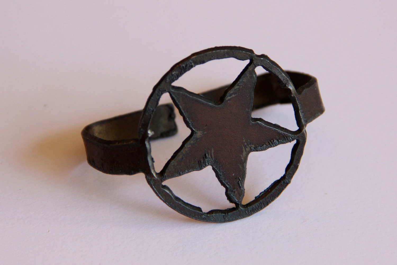 Texas Star Napkin Rings