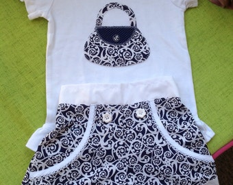 Girls Shorts Set size 4