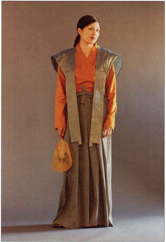 Folkwear Japanese Hakama & Kataginu Samurai Costume Sewing ...