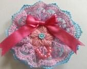 kawaii cute pink sweet pastel hair accessory and brooch