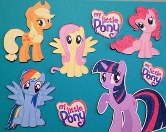 My Little Pony Die Cuts 8 pc