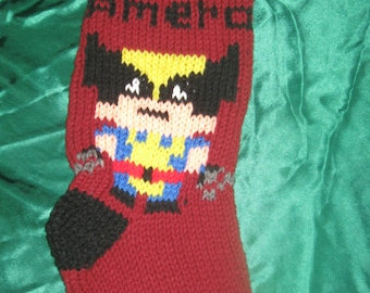 Wolverine Christmas stocking