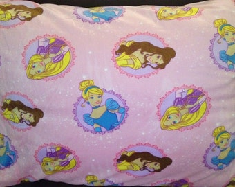 Pink princess standard pillow cases  FREE Personalization!!