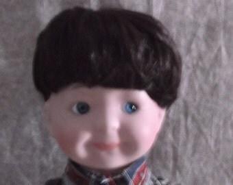 Vintage Heritage Mint Ltd Porcelain Boy Doll 1990