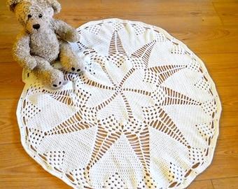 Heart and Star Crochet Baby Blanket