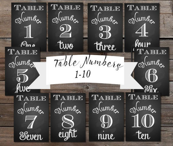 This is a graphic of Clever Free Printable Table Numbers 1-30