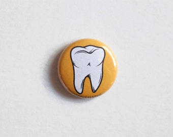 """1"""" Sweet Tooth Pinback Button"""