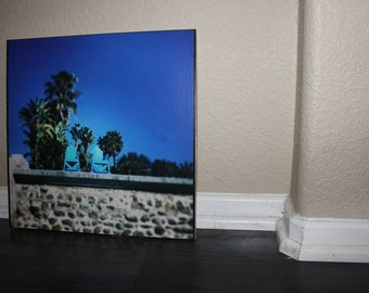 "2- 12"" x 12"" Custom Photos on Wood"
