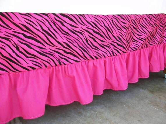 Hot Pink Crib Skirt 38