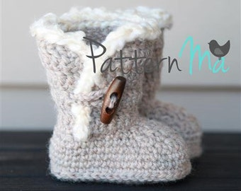 Bootie Pattern Crochet - Permission to Sell Finished Items #3