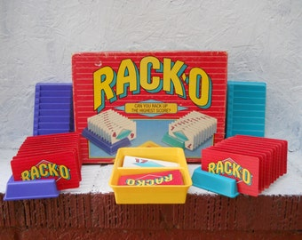 RACKO Card Game, Nice Condition, Rack Up the Highest Score