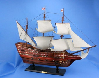 """Mayflower 30"""" / Model Ships / Tall Ships / Exploration Ships from the Age of Discovery"""