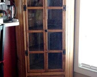 Cottage Curio Cabinet
