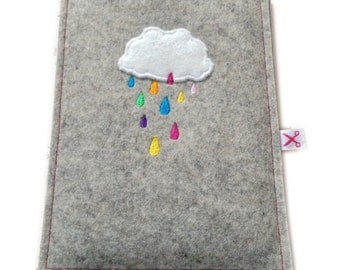 Kindle Sleeve Rain Cloud
