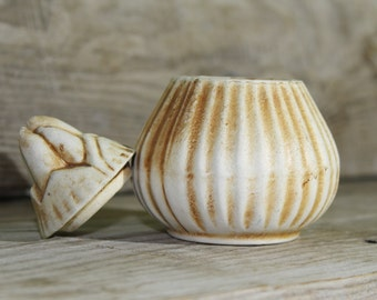 pottery vessel ... pottery figurine ... clay ... ceramics ... home decor