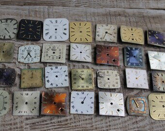 steampunk supplies ... 28 Old Vintage Watch Faces from USSR