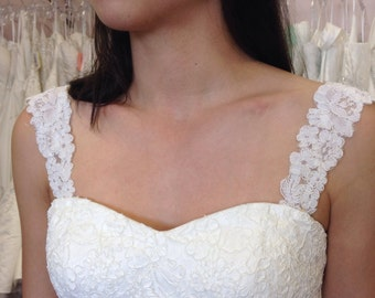 Detachable wedding gown straps # 22