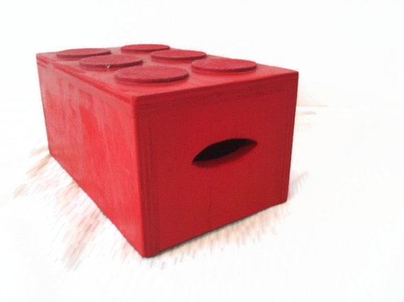 Kids Step Stool Childs Step Stool Red Solid Wood