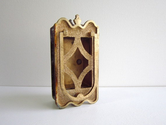 Arts and crafts mission style door knocker door peep - Door knockers with peepholes ...