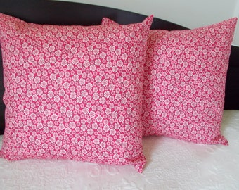 """Indoor Pillow Cover - 18"""" x 18"""" Cotton Pillow Cover at In Full Bloom Co."""