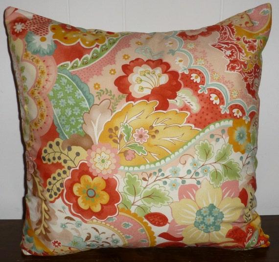 Decorative Pillow Cover Designer Fabric Mimi by