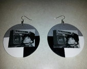 Back to Back LL Cool J Earrings (2.5 inches)
