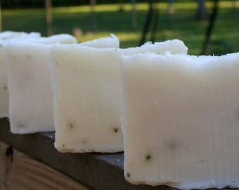 Mint Shea Butter Soap- Artsian Handmade, Hand Poured