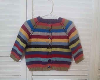 Made To Order Striped Toddler Sweater