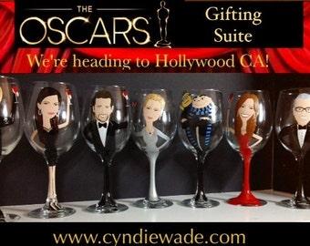 Celebrity Portrait Wine Glass Beer Glass