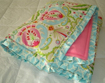 Toddler Blanket. Design, Kumari Garden Crib Bedding Blanket