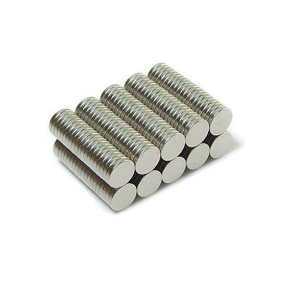 200pcs 6mm x 1mm n45 super strong neodymium disc magnets for Super strong magnets for crafts
