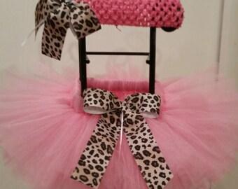 Pink Cheetah Tutu