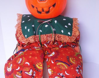 Halloween Pumpkin Shelf Sitter Jack o' Lantern Trick or Treat Prop