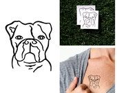 Beware - Temporary Tattoo (Set of 2)