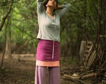 cotton yoga pants, organic cotton pants, hemp pants, organic pants, comfortable pants, wide leg pants, Indian fig pants