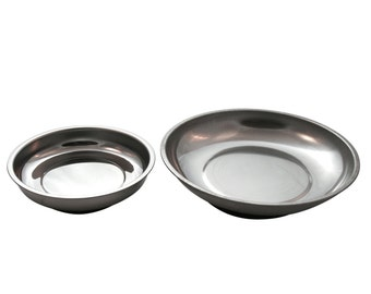 Magnetic Pin Bowls - 4 Inch and 6 Inch Weighted Bowls