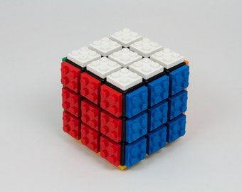 LEGO Plated Rubik's Cube