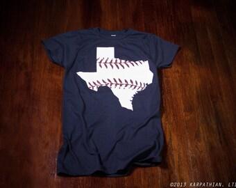 Texas baseball Ladies junior fit t-shirt