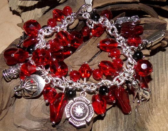 Fire Department Bracelet